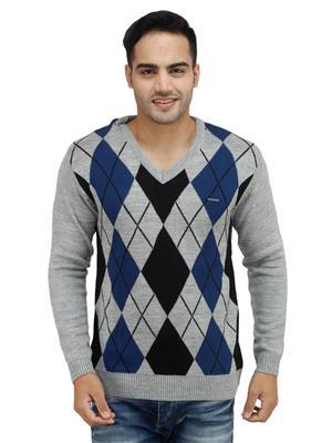 Duke S6276 Grey Men Sweater