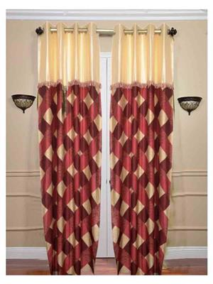 SAI ARPAN SAI00100172 Red Door Curtain