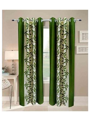 SAI ARPAN SAI00100218 Green Door Curtain