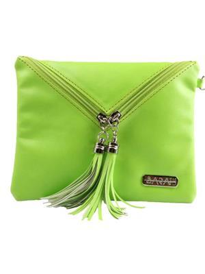 Sarah SBA012FY    Green  Clutch