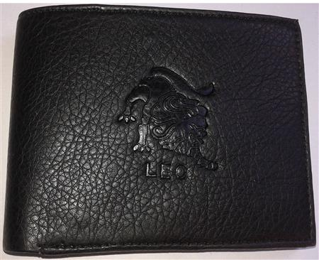 Sba Zodiac Cancer Black Wallet