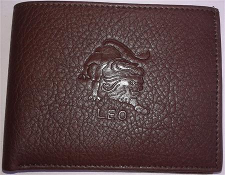 Sba Zodiac Cancer  Brown Wallet