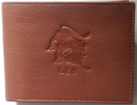 Sba Zodiac Cancer  Brown Wallet