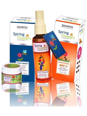 Zenvista Meditech Sbdr001 Skin Brightening Daily Routine Kit Combo Pack