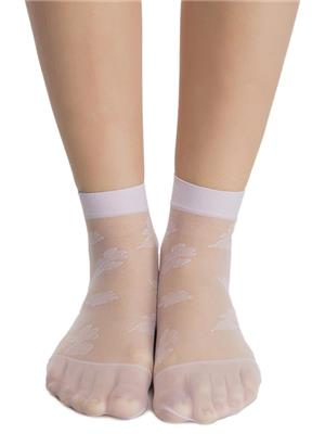Clovia SC0001P02 Yellow Women Short Ankle Socks