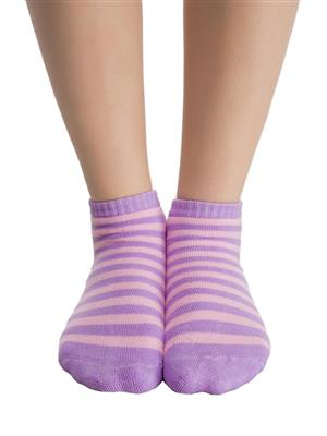 Clovia SC0006P12 Purple Women Short Ankle Socks
