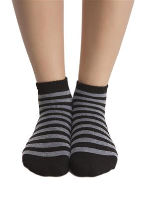 Clovia SC0006P13 black Women Short Ankle Socks