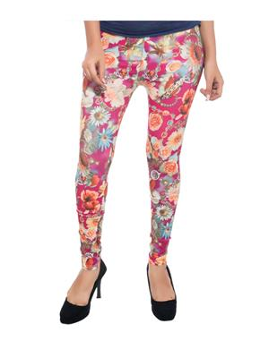 Feminine SC009 Multicolored Women Legging