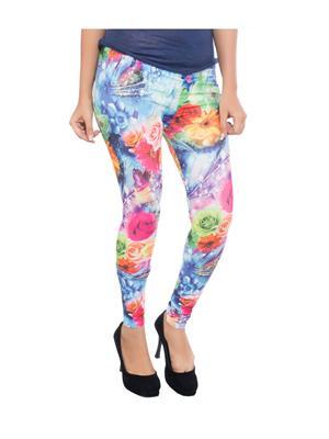 Feminine SC012 Multicolored Women Legging