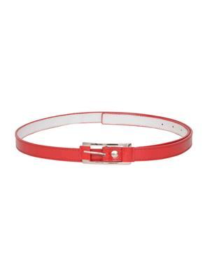 Scarleti Scrl-45P Red Women Belt