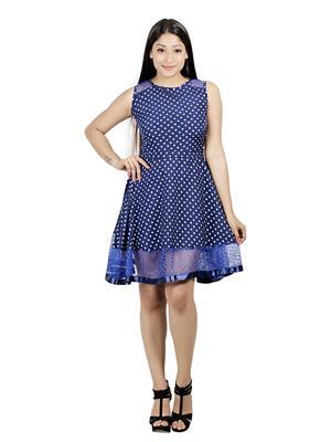 ShrichandraS Sczrd-056 Blue Women Dresses