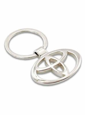 SuperDeals SD222 Toyota Metallic Ring Key Chain