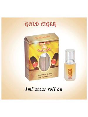 AL NUAIM SD457  Women  GOLD CIGER 3ML ROLL ON