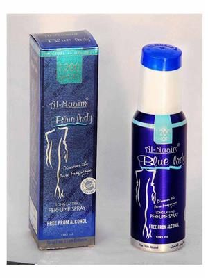 AL NUAIM SD576  Women  BLUE LADY 100ML1200 SHOTS PERFUME