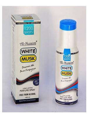 AL NUAIM SD584  Women  WHITE MUSK 100ML1200 SHOTS PERFUME