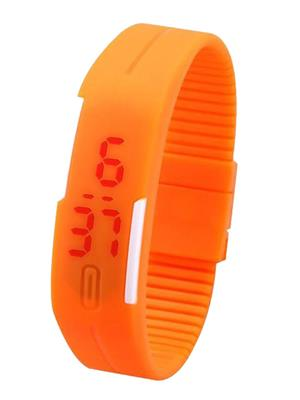 Superdeals Sd706 Orange Digital LED Watch