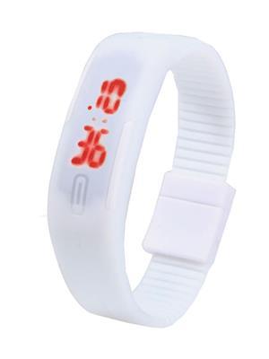 Superdeals Sd711 White Digital LED Watch