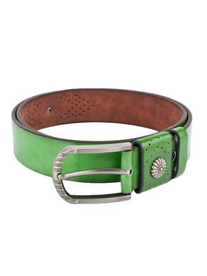 Swiss Design Sdblt-01-Gr Green Men Belt