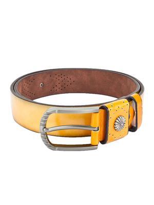 Swiss Design Sdblt-01-Yl Yellow Men Belt