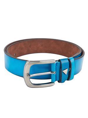 Swiss Design Sdblt-02-Bl Blue Men Belt