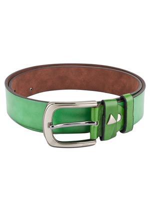 Swiss Design Sdblt-02-Gr Green Men Belt