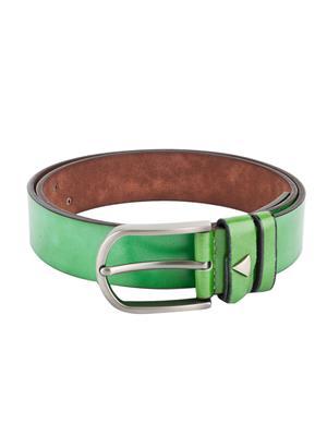 Swiss Design Sdblt-03-Gr Green Men Belt