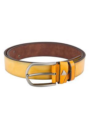 Swiss Design Sdblt-03-Yl Yellow Men Belt