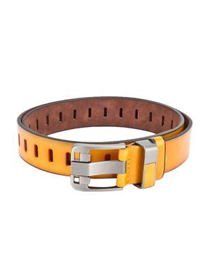 Swiss Design Sdblt-04-Yl Yellow Men Belt
