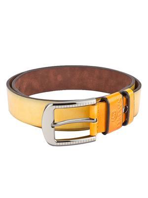Swiss Design Sdblt-05-Yl Yellow Men Belt