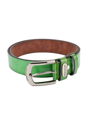 Swiss Design Sdblt-06-Gr Green Men Belt