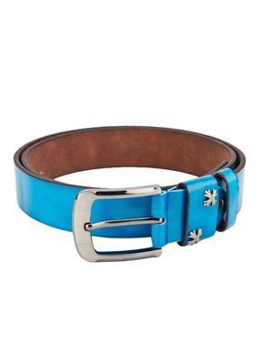 Swiss Design Sdblt-09-Bl Blue Men Belt