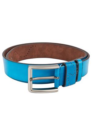 Swiss Design Sdblt-10-Bl Blue Men Belt