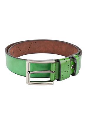 Swiss Design Sdblt-10-Gr Green Men Belt