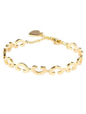 Swiss Design Sdjb-02 Golden Heart Bracelet