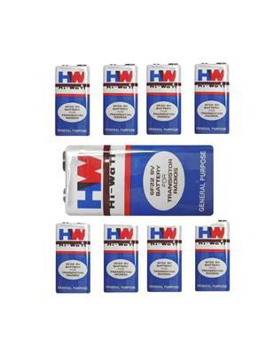 Original Hi-watt 6f22 - 9 Volt Batteries - Pack Of 8