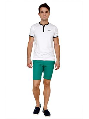 See Designs Sdmdwss15St450 Green Men Shorts