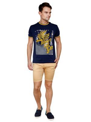 See Designs Sdmdwss15St452 Beige Men Shorts