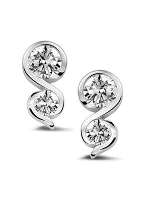 Silvosky Se2034 Silver Women Earring