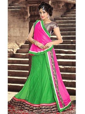 Suchi Fashion SFEEP90135 Green Women Lehenga Choli