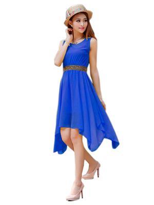 Shreeji Fashion Sfk1022 Blue Women Dress