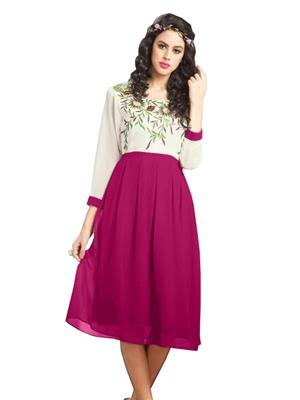 Shreeji Fashion SFK92 Pink Women Dresses