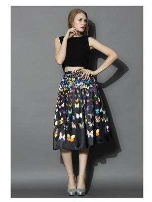 Shreeji Fashion Sft-01 Black Women Skirt