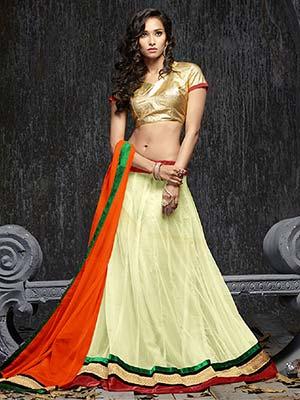 Suchi Fashion SFVIV90226 White Women Lehenga Choli
