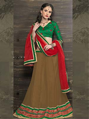 Suchi Fashion SFYHS90151 Brown Women Lehenga Choli