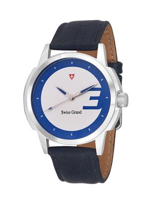 Swiss Grand SG-1042 White Men Analog Watches