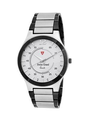 Swiss Grand SG-1065 White Men Analog Watches