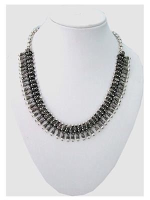 Shubh Gems Sgm237 Silver Alloy Necklace