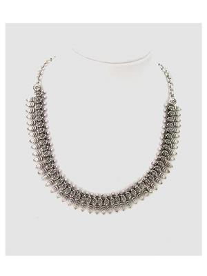 Shubh Gems Sgm244 Silver Alloy Necklace