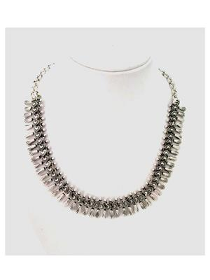 Shubh Gems Sgm251 Silver Alloy Necklace