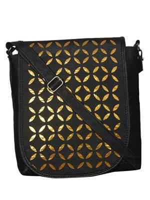 Styleworld Sh-014 Black Women Sling Bag